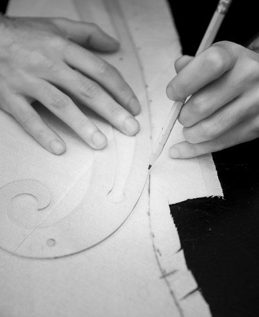 patronage artisanal pour la nouvelle collection Galatée Couture
