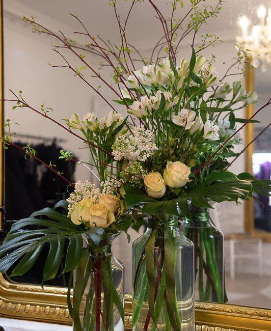détail du showroom de Galatée Couture