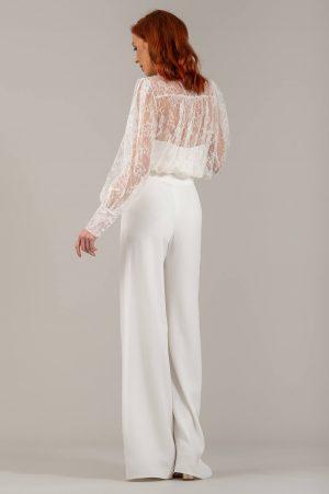 MILA - blouse en dentelle